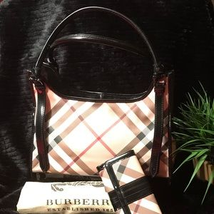 BURBERRY Handbag and Wallet